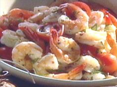 Greek Shrimp Salad Video : Food Network - FoodNetwork.com