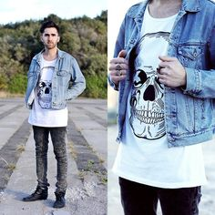 ++ SKULLZ ++ (by Raimundo Hernandez) http://lookbook.nu/look/3929408-SKULLZ Cool look