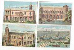 Chromos Exposition Universelle DE 1878 A Paris