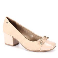 Sapato Salto Feminino Dakota - Nude