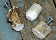 Crafts Made with Deer Antlers | Moose-R-Us.Com Real Deer Antler Drawer Pulls Handles Cabinet Hardware