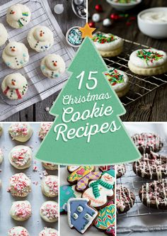 15 Christmas Cookie Recipes you have to try this year!