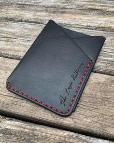 Slipper wallet. #leathercraft #fashion #mensfashion #handmade #propergentleman #cardwallet #minimal