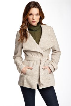 Wrap Coat by Jessica Simpson on @nordstrom_rack