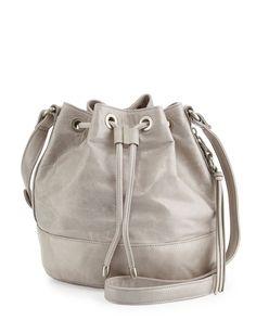 Hobo Tulia Leather Bucket Bag, Cloud, Women's, Size: S