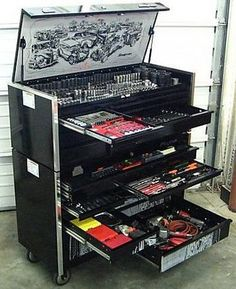 ooh Snap-On Tools. Craft room organizer. This would DEFINITELY fit my tomboy side.....LOVE IT!!!!