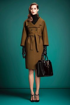 Mad men meets military #gucci #coat #winter #fashion ...