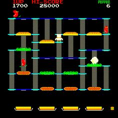 BurgerTime. Loved, loved, loved this game