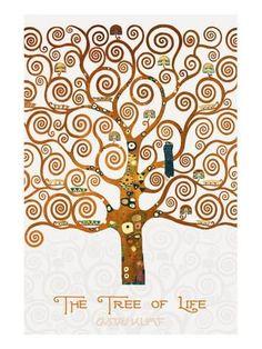 """Képtalálat a következőre: """"Under the Tree of Life by Gustav Klimt, traducir"""""""