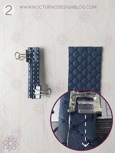 Tutorial de costura: Tula en acolchado. – Nocturno Design Blog Elegante Y Chic, Design Blog, Daniel Wellington, Music Instruments, Accessories, Jeans, Fashion, Scrappy Quilts, Fashion Handbags