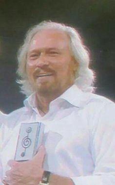 Barry Gibb.