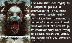 Narcissistic Rage - almost every time I persue to address an important issue where it's clear he's abusive he rages in my face!