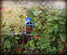 Little shrine for garden.