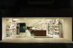 Shibuya Publishing is the Hiroshi Nakamura project finished at 2008, this bookshop and office located in Tokyo Japan, built in 240 square meter area.
