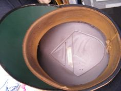 Inside of Hat more details @ www.ww2militaria.net Luftwaffe, Hats, Organization, Hat, Air Force, Hipster Hat