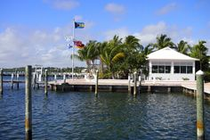 Angler's Restaurant sits on the waterfront at Abaco Beach Resort and Boat Harbour Marina | SBPR