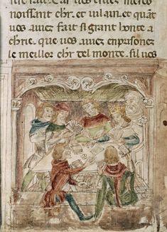 File:Men playing cards - Roman du Roy Meliadus de Leonnoys (c.1352), f.313v - BL Add MS 12228.jpg