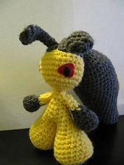 Ravelry: Mawile Pokemon pattern by The Nerdy Knitter $4.95 Pokemon Crochet Pattern, Amigurumi Patterns, Amigurumi Doll, Crochet Patterns, Diy Crochet, Crochet Toys, Crochet Ideas, Pokemon Pins, Pokemon Stuff