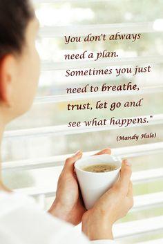 just breathe! #coffeeinspiration