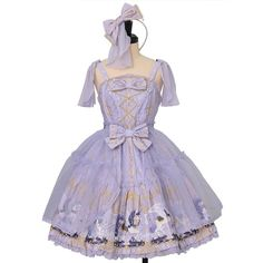 Worldwide shipping available ♪  Crystal Dream Carnival Tiered Jumper Skirt + Headband  Angelic Pretty  https://www.wunderwelt.jp/en/products/w-23415  IOS application ☆ Alice Holic ☆ release  Japanese: https://aliceholic.com/  English: http://en.aliceholic.com/