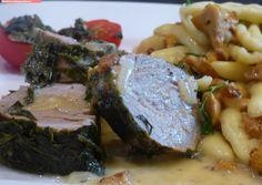 fischi`s cooking and more....: pochiertes schweinefilet im kräutermantel mit eier...