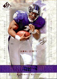 2002 SP Legendary Cuts #18 Jamal Lewis Team: Baltimore Ravens