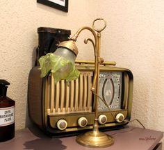 maSphere Select: vintage chic blog.: Lámpara de mesa francesa primeros de siglo