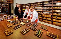 Das Team des Wiener Xocolat (v.l.n.r.): Werner Meisinger, Thomas Scheiblhofer, Ramona Mahr und Christian Petz / Foto: beigestellt