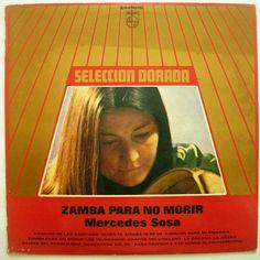 MERCEDES SOSA ZAMBA PARA NO MORIR Argentina Press Lp Vinyl, Vinyl Records, Mercedes Sosa, Folk Music, Singer, Ebay, Argentina, Singers, Folk