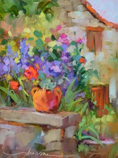 Le Jardin of Frayssinet  Artist and Writer Dreama Tolle Perry