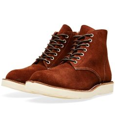 SOPHNET. 7 Hole Zip Up Boot - $435