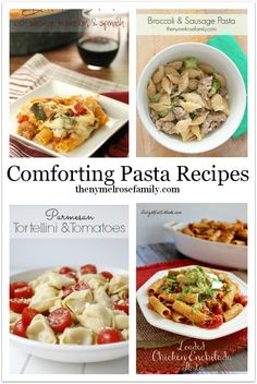 Always looking for new pasta recipes - these look great!