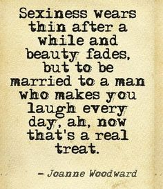 very true blessed with a hubby that makes me laugh every single day <3