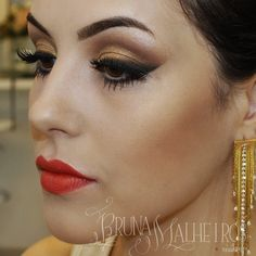 3 - Sugestão maquiagem final de ano. http://www.brunamalheiros.com/maquiagem-facil-para-festas-de-fim-de-ano/