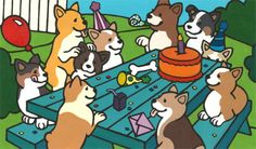 corgi party