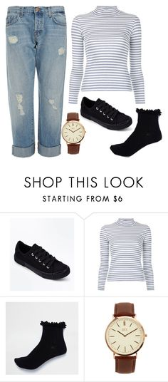 """16/02/18"" by xellalikesukulelesx on Polyvore featuring New Look, Golden Goose, River Island, BKE and J Brand"