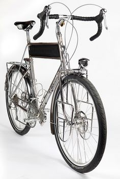 Stainless Steel Touring Bicycle #solebike #Athens sightseeing