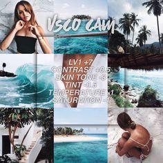 Beautiful VSCO filter for the beach Photography Filters, Photography Editing, Girl Photography, Wedding Photography, Instagram Theme Vsco, Photographie Bokeh, Fotografia Vsco, Best Vsco Filters, Free Vsco Filters