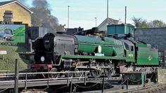 Steam locomotive 34053 Sir Keith Park to attend Tyseley Locomotive Works Vintage Weekend Southern Trains, Steam Railway, Southern Railways, Merchant Navy, Bullen, Battle Of Britain, Great Western, Steam Engine, Steam Locomotive