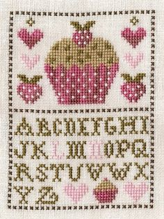 another cross stitch addict    (...cr...use just the top or the bottom  to mix with summer ornies)