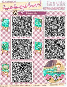 Blossom Lake Part 2 QR Codes