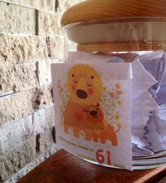 Birthday Love Jar. 61 things we (mom, kids, grandkids & son-in-laws) love about dad for his 61th birthday.