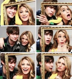 Blake Lively and Chace Crawford - Serena and Nate