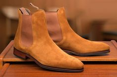 Carmina Chelsea Boot in Suede