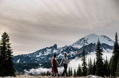 Seattle based elopement photographer documents adventurous couple in Mt. Moving To Seattle, Rainier National Park, San Juan Islands, Cascade Mountains, North Cascades, Outdoor Woman, Industrial Wedding, Wedding Images, Landscape Photographers