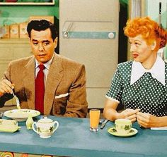 I Love Lucy in technicolor...I'll forever love the Black and White version!
