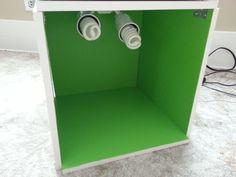 LEGO Green Screen Light Box for filmmaking