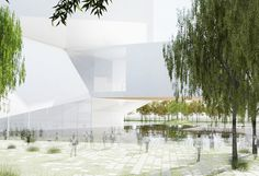 Qingdao Culture and Art Center Steven Hall