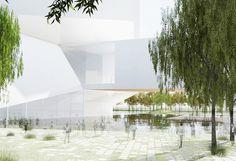 Qingdao Culture and Art Center Steven Hall