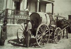 Νερουλάς Greece Pictures, Old Pictures, Good Old Times, Athens Greece, Istanbul, Past, Memories, Black And White, History